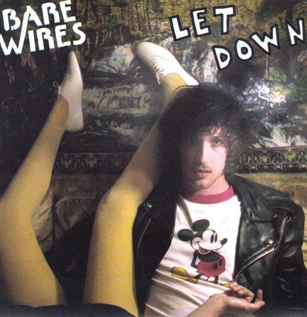 "BARE WIRES- Let Down 7"" - Milk N Herpes - Dead Beat Records"