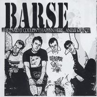 Barse- They Said It Couldn't Happen Here... And It Didn't! CD - Hells Tone - Dead Beat Records