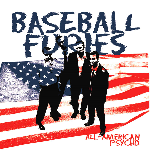 Baseball Furies- All American Psycho LP ~REISSUE / RARE WHITE WAX!