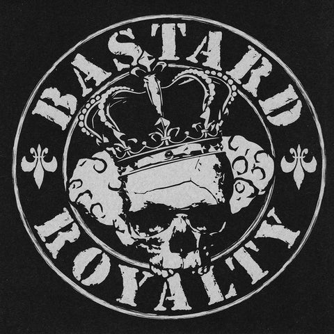 "Bastard Royalty- S/T 7"" ~W/ STICKER! - Pogohai - Dead Beat Records - 1"