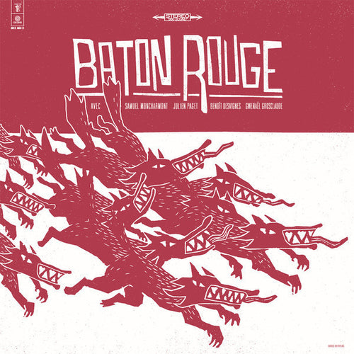 Baton Rouge- Fragments D'eux Meme LP ~REISSUE! - Adagio 830 - Dead Beat Records