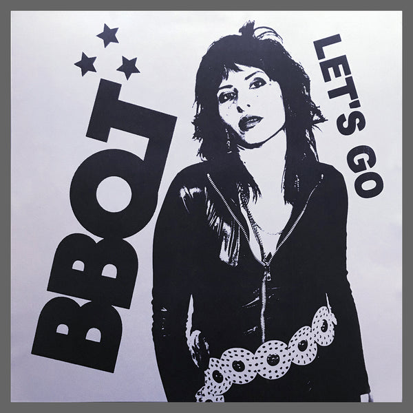 BBQT- Let's Go LP ~RARE SILVER SPARKLE COVER LTD 50!