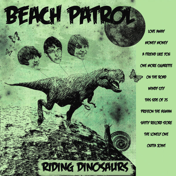 Beach Patrol- Riding Dinosaurs LP ~MODERN LOVERS!