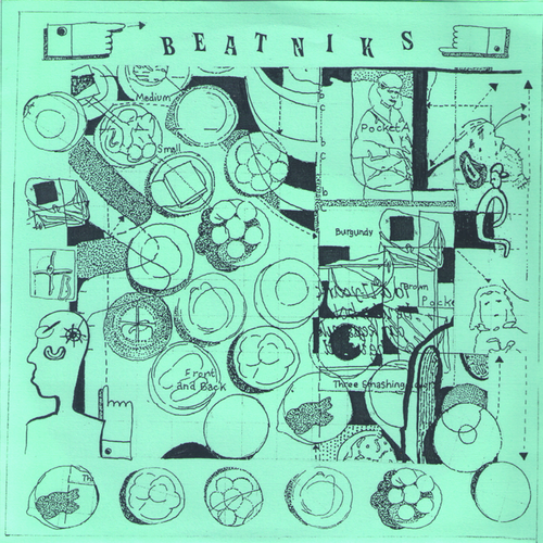 "Beatniks- Heat Creatures 7"" ~LTD TO 83 COPIES! - Goodbye Boozy - Dead Beat Records"