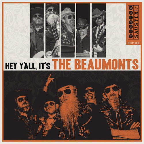 The Beaumonts- Hey Y'all It's (The Beaumonts) LP ~LTD TO 200 ON WHITE! - Saustex - Dead Beat Records
