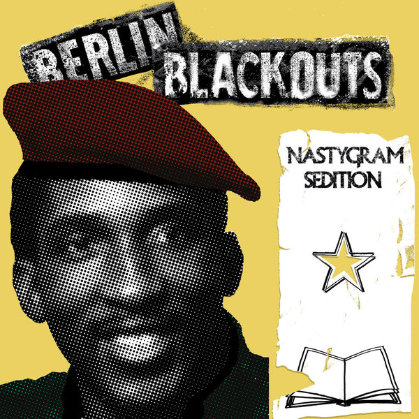 Berlin Blackouts- Nastygram Sedition LP ~EX RADIO DEAD ONES / WANDA RECORDS!