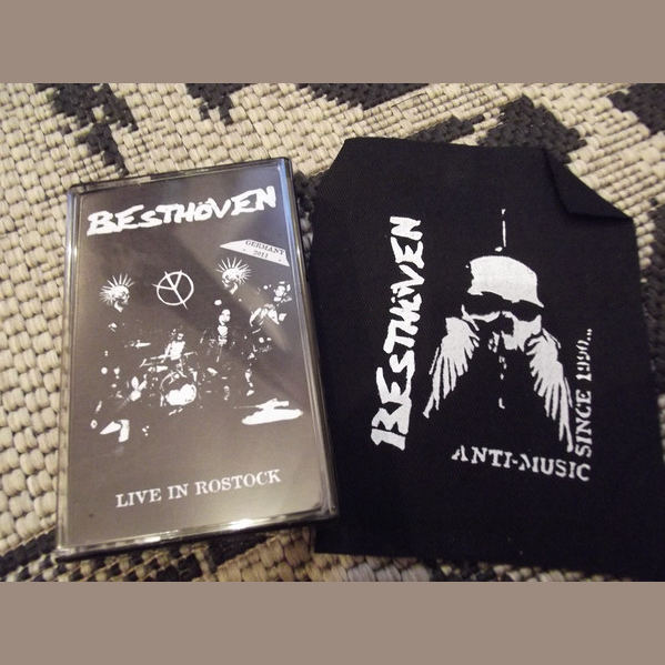 Besthöven- Live In Rostock CS TAPE ~W/ PATCH! - Pogohai - Dead Beat Records - 1