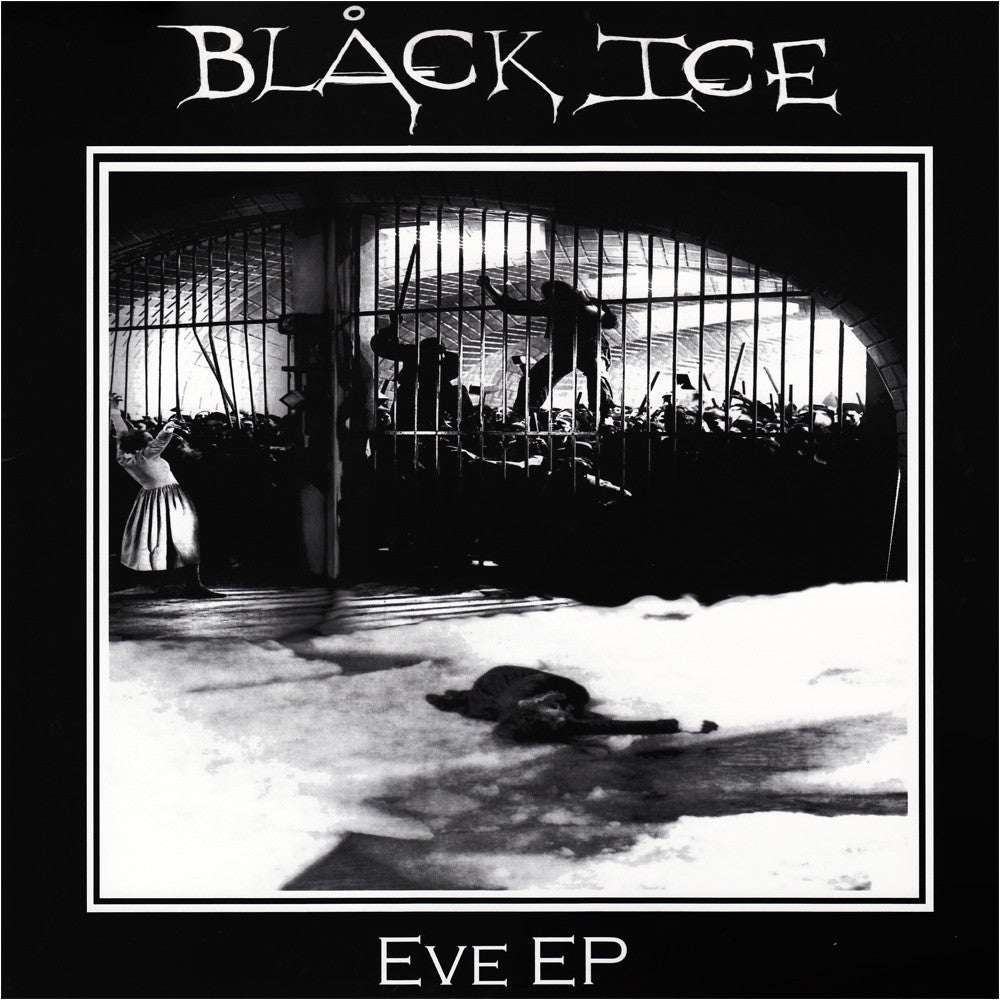 "Black Ice- Eve 10"" ~ARCTIC FLOWERS! - Mad At The World - Dead Beat Records"