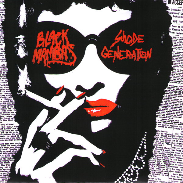 "Black Mambas/Suicide Generation- Split 7"" ~KILLER!"