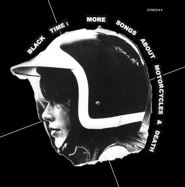 Black Time- More Songs About Motorcycles & Death LP - Wrench - Dead Beat Records