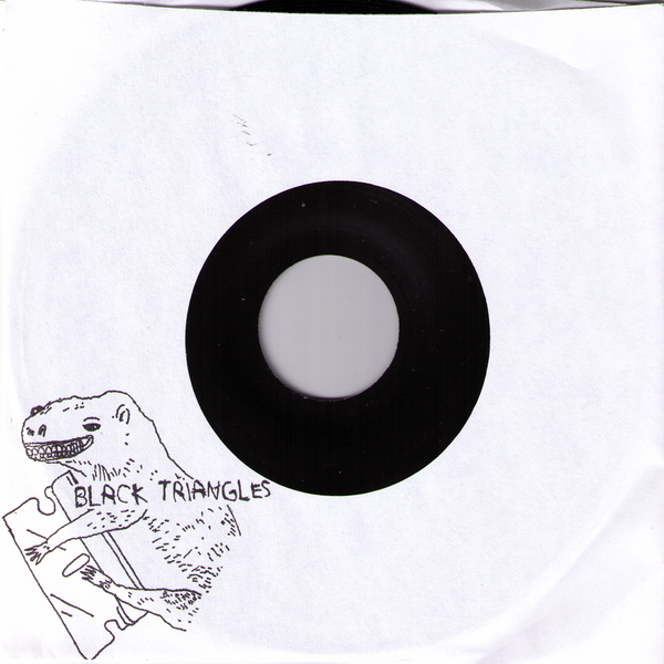 "Black Triangles- Mannequin 7"" ~THE GERMS!"