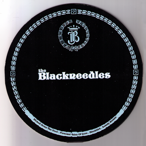 "Blackneedles- Kick Down The Door 7"" ~DIE CUT COVER!"