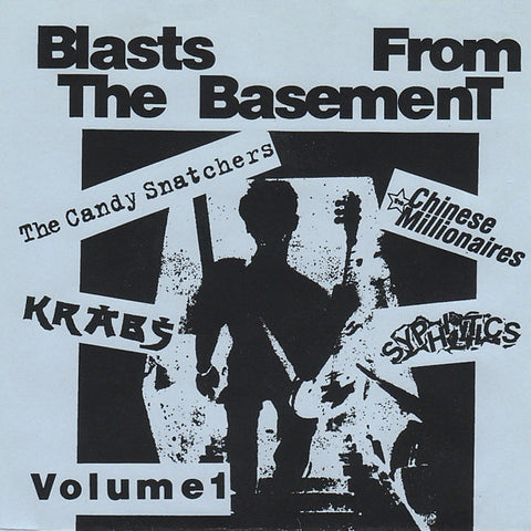 "V/A- Blasts From The Basement 7"" W/ CANDY SNATCHERS!"