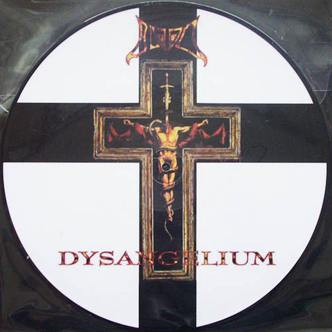 Blood- Dysangelium LP ~PICTURE DISC! - Fudgeworthy - Dead Beat Records