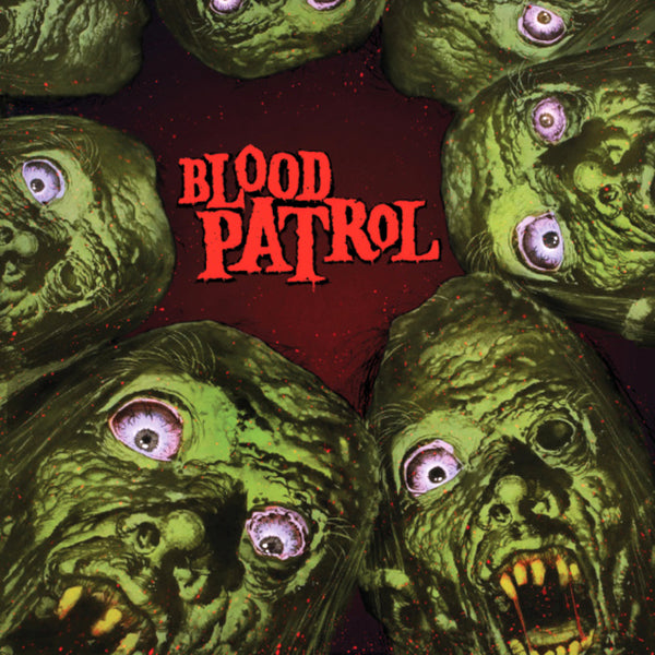 Blood Patrol- From Beyond And Below LP ~RARE GREEN MARBLE WAX LTD 100!