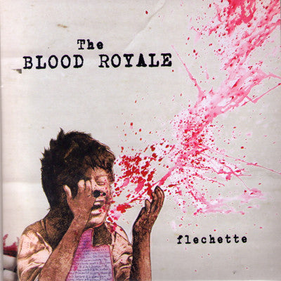 "BLOOD ROYALE- Flechette 7"" - Cutthroat - Dead Beat Records"