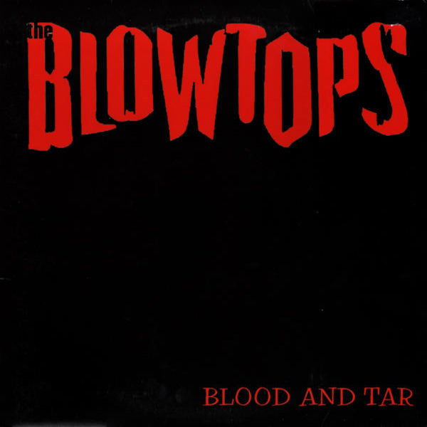 "Blowtops- Blood And Tar 10"" ~CRAMPS / RARE GREY MARBLE WAX!"