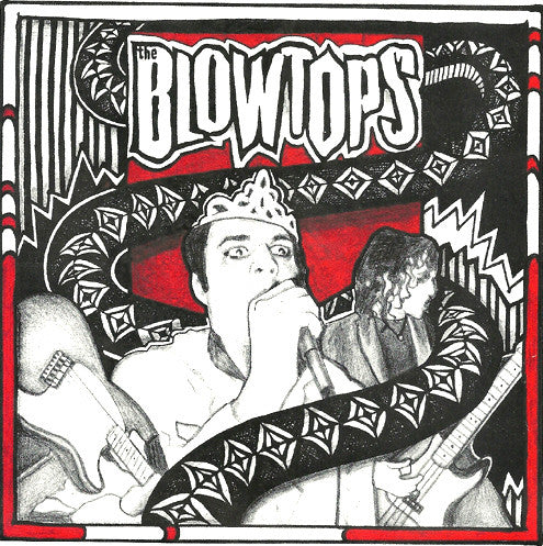 "Blowtops- Surgeon's Hands 7"" ~LTD TO 100 ON RED WAX! - Reptilian - Dead Beat Records"