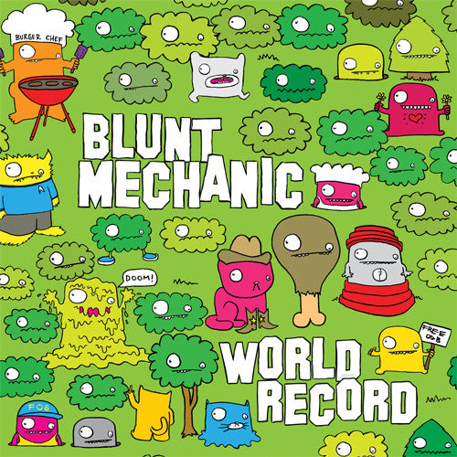 Blunt Mechanic- World Record LP ~GATEFOLD - Art Of The Underground - Dead Beat Records