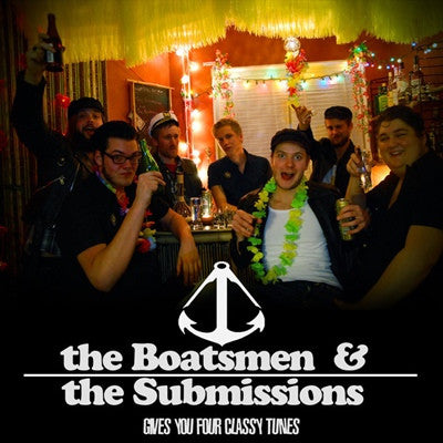 "SUBMISSIONS/THE BOATSMEN- Split 7"" - Zorch - Dead Beat Records"
