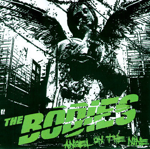 "The Bodies- Angel On The Nine 7"" ~RARE WHITE WAX! - NO FRONT TEETH - Dead Beat Records"