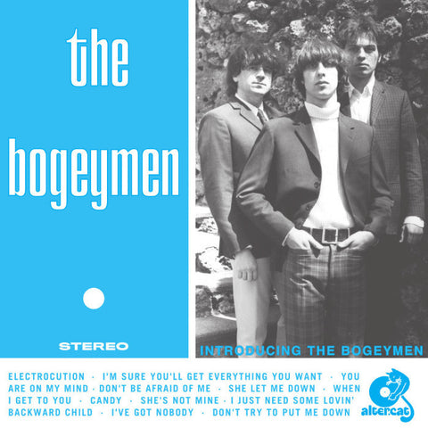 The Bogeymen- Introducing LP ~REISSUE! - Altercat - Dead Beat Records