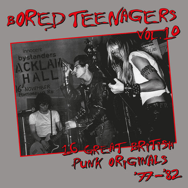 V/A- Bored Teenagers Vol. 10 LP ~REISSUE W/ 20 PAGE BOOKLET!