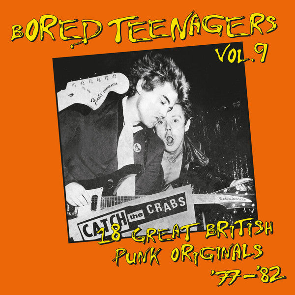 V/A- Bored Teenagers Vol. 9 LP ~REISSUE!