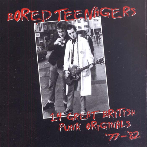 V/A- Bored Teenagers Vol. 1 CD ~REISSUE! - Bin Liner - Dead Beat Records