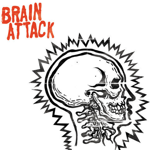 "Brain Attack- S/T 7"" ~EX WICCANS! - Dirt Cult - Dead Beat Records"