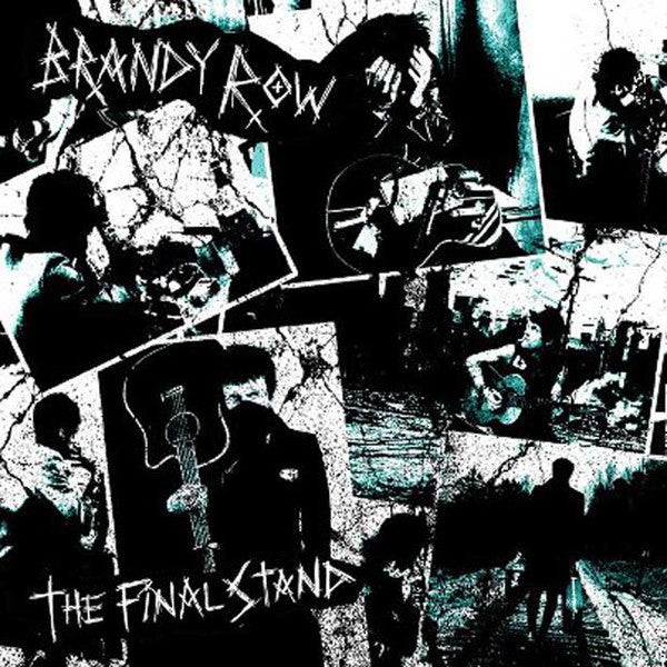 "Brandy Row- The Final Stand 7""  ~EX GAGGERS! - NO FRONT TEETH - Dead Beat Records"