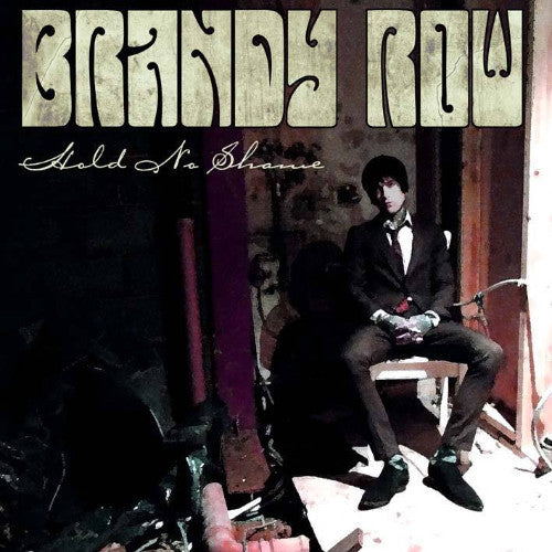 "Brandy Row- Hold No Shame 10"" ~W/ GIANT POSTER! - NO FRONT TEETH - Dead Beat Records"