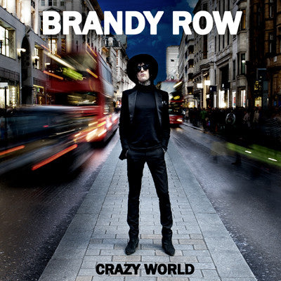 "Brandy Row- Crazy World 7"" - NO FRONT TEETH - Dead Beat Records"