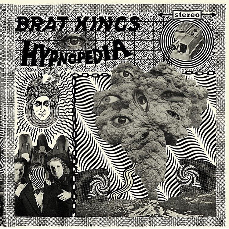 Brat Kings- Hypnopedia LP ~RARE RED WAX LTD 100!
