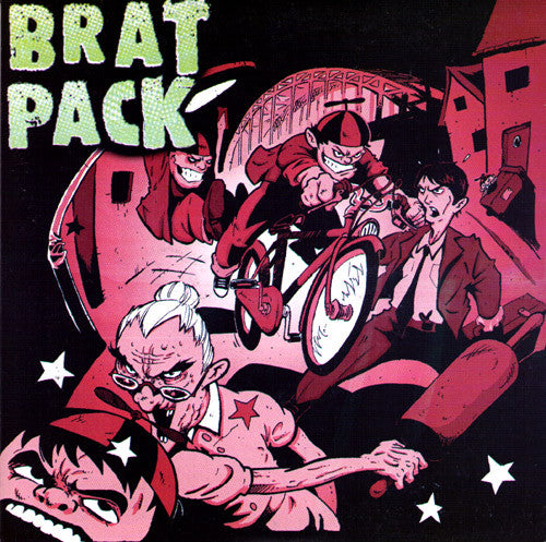 "Brat Pack- S/T 7"" - Pick Up - Dead Beat Records"