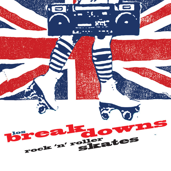 Los Breakdowns- Rock 'n Roller Skates CD ~THE RECORDS!