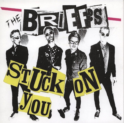 "The Briefs- Stuck On You 7"" ~VERY RARE CLEAR WAX! - Zaxxon - Dead Beat Records"