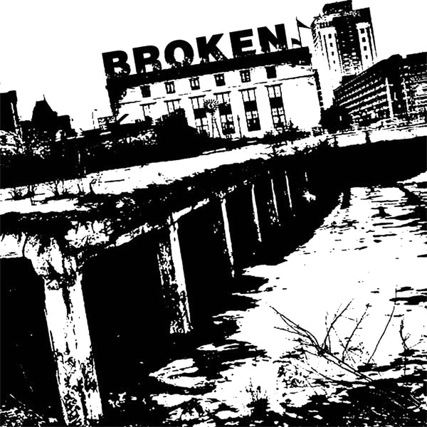 Broken- S/T LP ~SUBHUMANS!