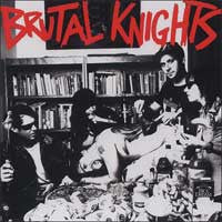 Brutal Knights- Feast Of Shame LP ~KILLER! - Ptrash - Dead Beat Records