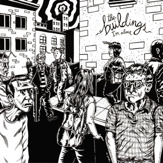 "The Buildings- I'm Alone 7"" - Sunny Day Records - Dead Beat Records"