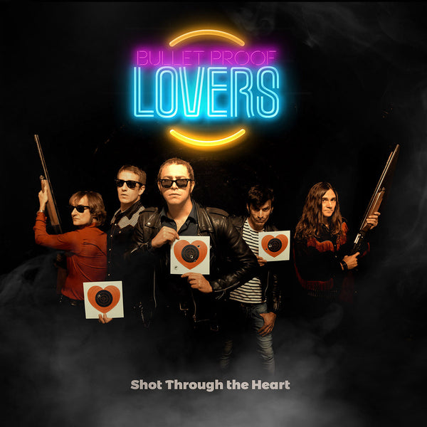 Bullet Proof Lovers- Shot Through The Heart CD ~W/ KURT BAKER!