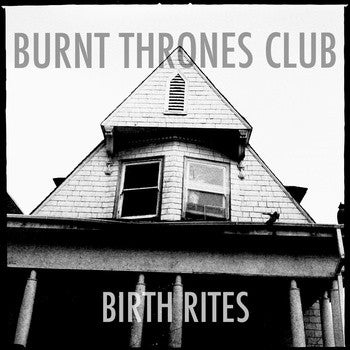 "Burnt Thrones Club- Birth Rites 7"" ~KILLER! - Hovercraft - Dead Beat Records"