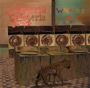 "Cafeteria Dance Fever- Where's My Bleach? 7"" - Hovercraft - Dead Beat Records"