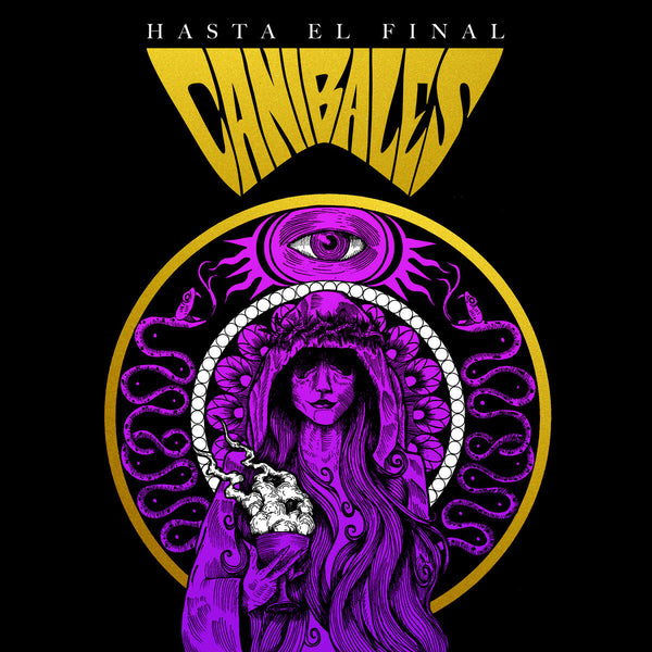 "Canibales- Hasta El Final 7"" ~RARE PURPLE / GOLD SPLIT COLOR WAX!"
