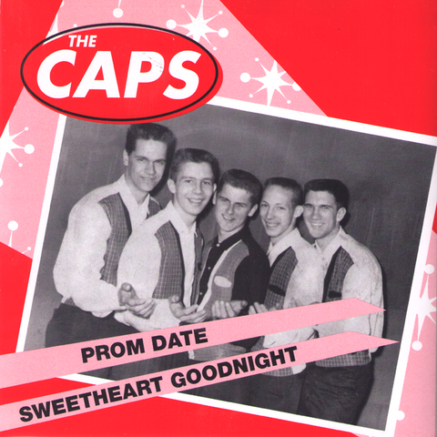 "The Caps- Prom Date 7"" ~REISSUE! - Get Hip - Dead Beat Records"
