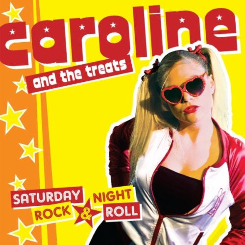 Caroline And The Treats- Saturday Night Rock & Roll LP - Rockin Bones - Dead Beat Records