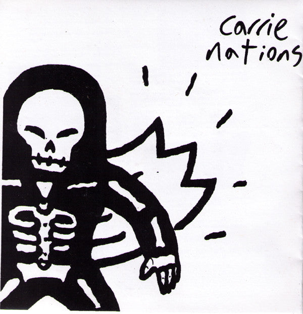 "CARRIE NATIONS- 'S/T' 7"" - Stankhouse - Dead Beat Records"