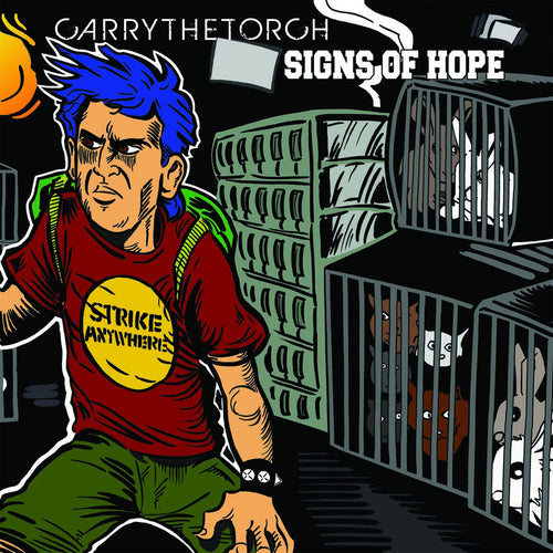 "Carry The Torch / Signs Of Hope- Split 7"" ~BRIAN WALSBY COVER ART!"