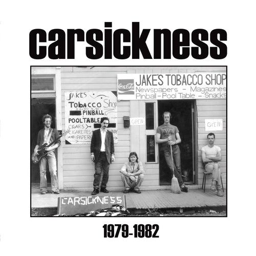 Carsickness- 1979 - 1982 LP ~REISSUE / RARE BLACK WAX LTD TO 200!