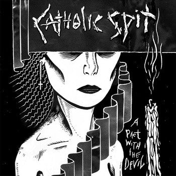 Catholic Spit- A Pact With The Devil LP ~KILLER! - Bad Touch - Dead Beat Records